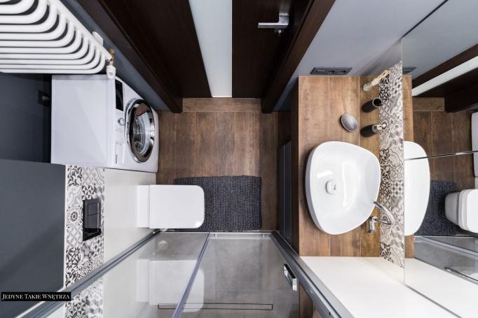 realizacja projektu łazienki Kraków - JedyneTakieWnętrza