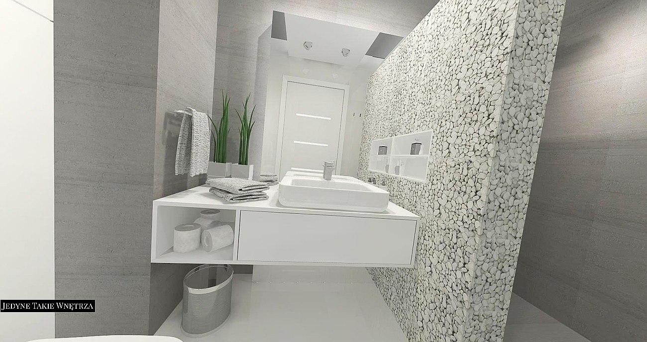 Szare łazienki Zdjęcia łazienki Aranżacje Strona Projekty I