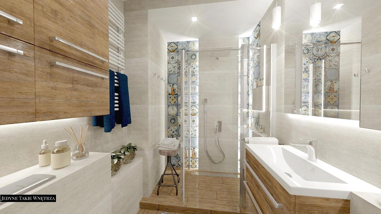 Projektowanie łazienek Jedynetakiewnętrza Paulina Kononowicz Kwaśnik