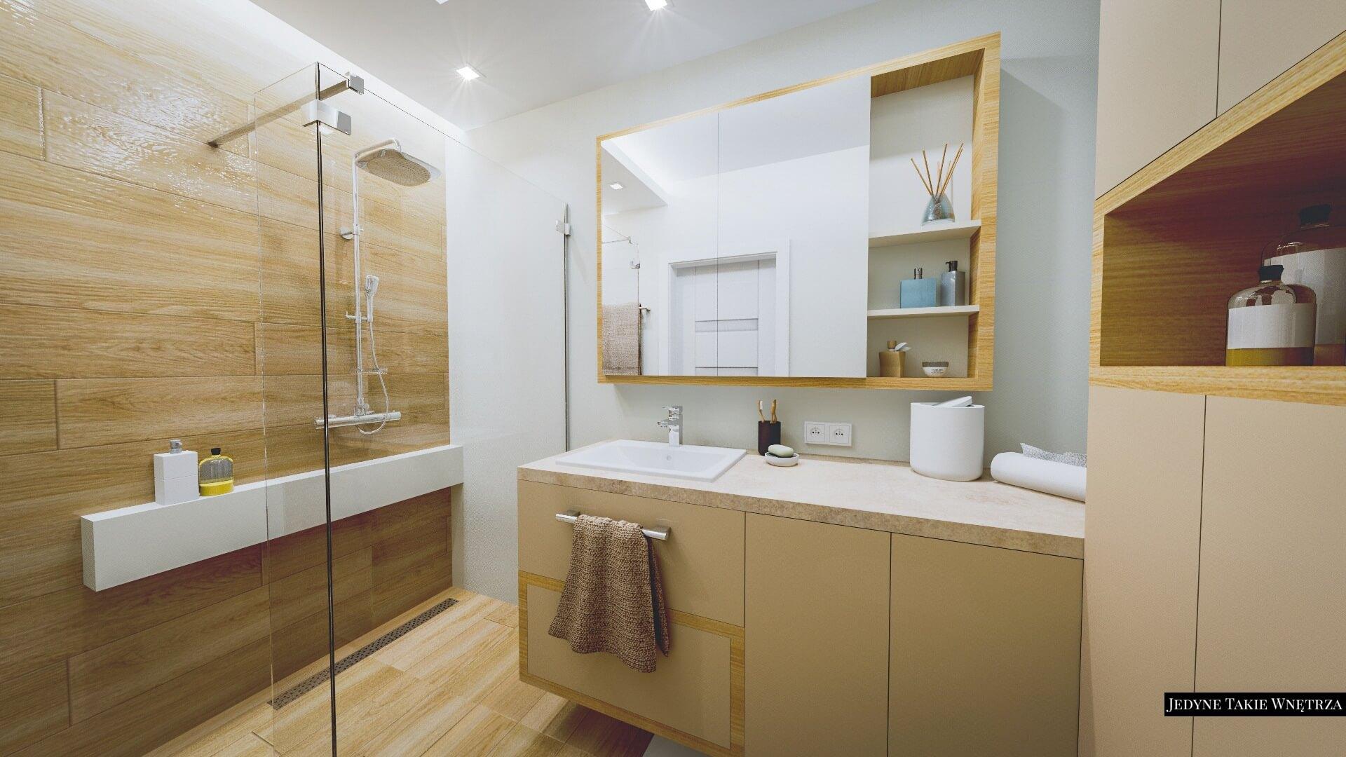 Projektowanie łazienek Jedynetakiewnętrza Paulina